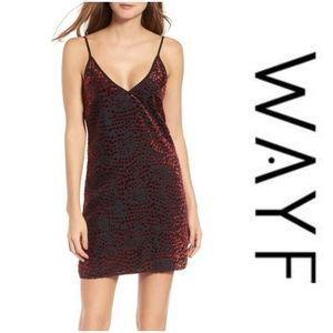 Brand New Wayf Lamont Mini Dress